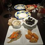 マヌエル タスカ ド ターリョ - 選べる前菜4種盛り合わせ