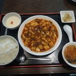 ルーロン - 山椒入り陳麻婆豆腐のランチセット