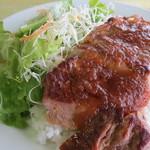 スカイドームレストラン - ステーキ1200g  1500円
