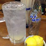 ばん - レモンサワー(サワー+レモン)