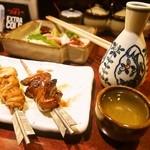 日本ばし とり鹿 - 冬は燗酒が美味しいねぇ