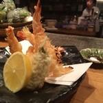 とろり - 海老の焼き天ぷら