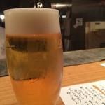 とろり - 生ビール