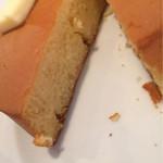 ほそつじいへえ TEA HOUSE - パンケーキ断面