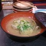 金沢まいもん寿司 - あさり汁