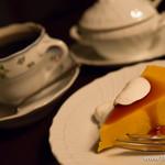 ベルエキップ - バリ島 アラビカ神山 フレンチロースト+ケーキセット【2014年9月】
