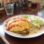 こだわりラーメンカフェ 壺水天 - オムライス680円