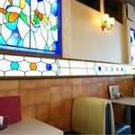 喫茶マンボ - ステンドグラスがきれい