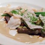 ホロホロ - 白イカのグリルと茄子のソテー【2014年10月】
