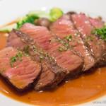 ホロホロ - 和牛シンタマ肉のステーキ【2014年10月】