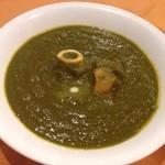 ◆ラムとほうれん草カレー Lamb and spinech curry