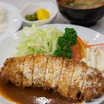 キッチンふるはし - ポークロースチーズ焼き【2014年10月】