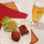 ◆Bセット(チキンティッカ2P¥238+お好みの飲み物)