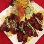 ◆カルビの焼肉(サラダ付)  Roostod meat of ribs
