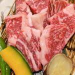 33915243 - 夕食和歌山牛(単品別注)