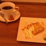 33915809 - H26/10バナナパウンドケーキと、ウーノボーノブレンドコーヒー