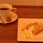 33915816 - H26/10バナナパウンドケーキと、ウーノボーノブレンドコーヒー
