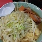 ラーメン二郎 歌舞伎町店 - 野菜ニンニク増し
