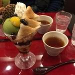 茶カフェ 上辻園 - パフェ