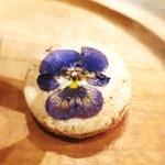 コチト ハナトオカシト - エディブルフラワーのクッキー