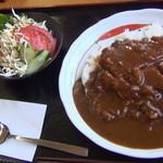 なぽれおん食堂 - カツカレー(\750)