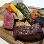 又三郎 - 料理写真:熟成ステーキ