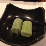 かに満 - 抹茶アイス
