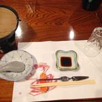 かに満 - テーブルコーディネート