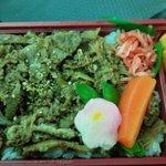 かぐはや - 料理写真:牛しぐれ煮弁当お茶付1150円