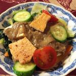 セデルハナ - セデルハナスペシャルランチセット(サラダ+スープ+料理2品+ライス+ドリンク+デザート付) 1,000円