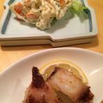 浜勢 - 蛸とポテトサラダ