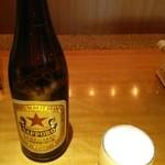 日本海庄や - 中瓶ビール