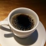 日本海庄や - 食後のコーヒー