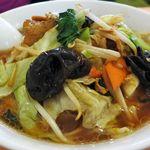 紫禁城 - 野菜ラーメン