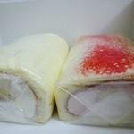 仙台国際ホテル デリカショップ - 2015年福袋の紅白ロールケーキ