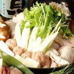 朝〆鶏のハリハリ鍋 (2人前) 1190円(税別)