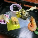 札幌かに本家 - 前菜5種類