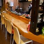 韓日茶苑 楽zen - 1人でも気軽に座れるカウンター席