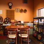 韓日茶苑 楽zen - 韓国の雑貨に囲まれたテーブル席
