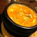 33923536 - 純豆腐チゲ(スンドゥブ)