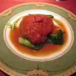 33926243 - 牛肉のパン粉焼きトマトソース