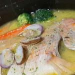博多ほたる - れんこ鯛のアクアパッツァ【2014年11月】