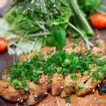 つばき食堂 - 豚ロース肉ステーキ【2014年11月】