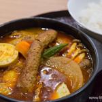スープカレー 米KURA - チキン野菜カレー・シシカバブ【2014年11月】