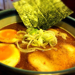 麺楽屋 - コク醤油味玉らぁめん 780円