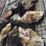 魚市魚座 - 牡蠣焼き