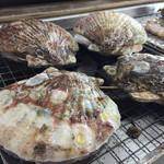 魚市魚座 - ホタテ焼き