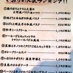 Itariandaininguhananoiori - 人気ランキング