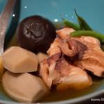 煮炊屋 金菜 - 北海蛸と椎茸、里芋の炊き合わせ【2014年11月】