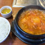 いなかや - 海鮮おぼろ豆腐定食